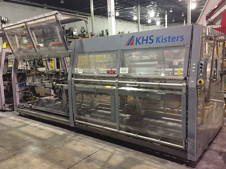 Used KISTERS 80 Cycle Tray Packer Wraparound Case Packer