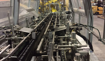 Used KISTERS 80 Cycle Tray Packer Wraparound Case Packer full