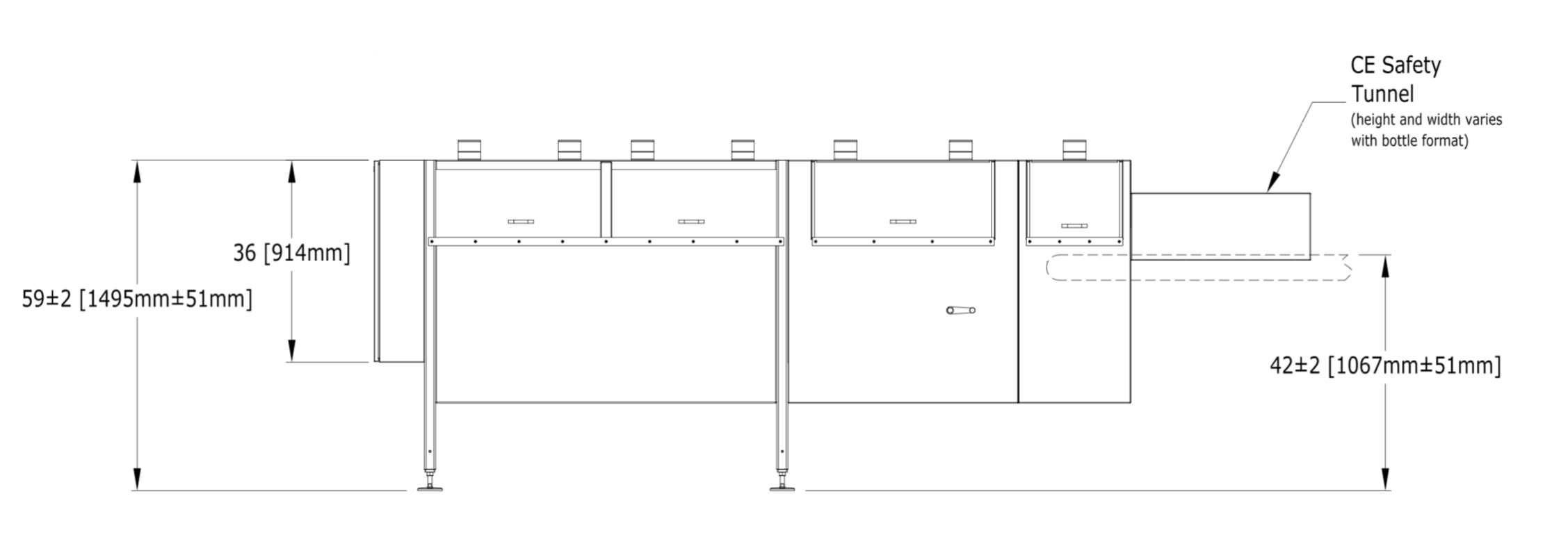 Pace M500 drawings