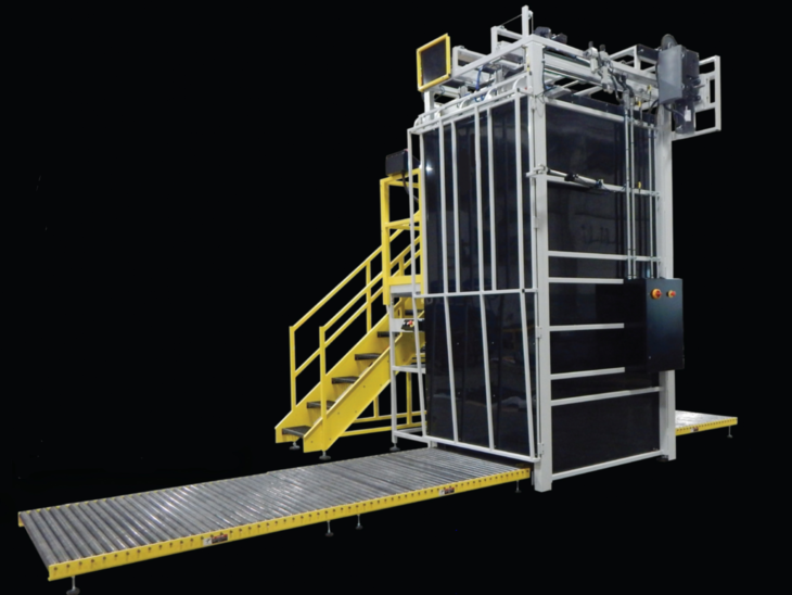 Automatic High Level Depalletizer full