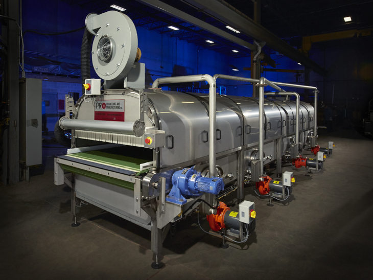 Micro Tunnel Pasteurizer