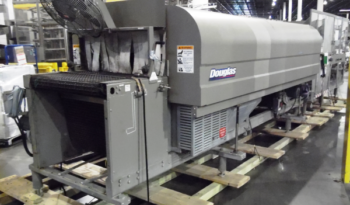 Used DOUGLAS 50 Cycle Tray Shrink Wrapper