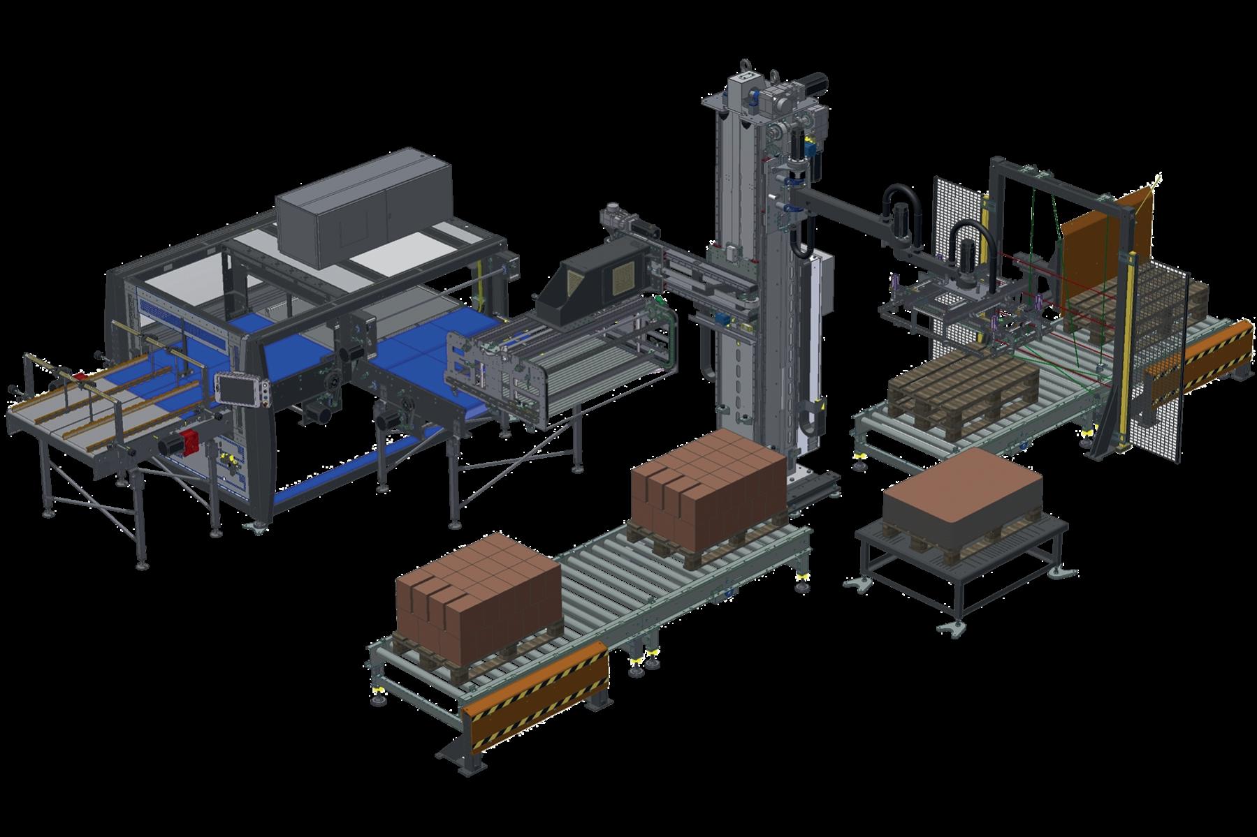 Automatic Palletization System (90PPM)