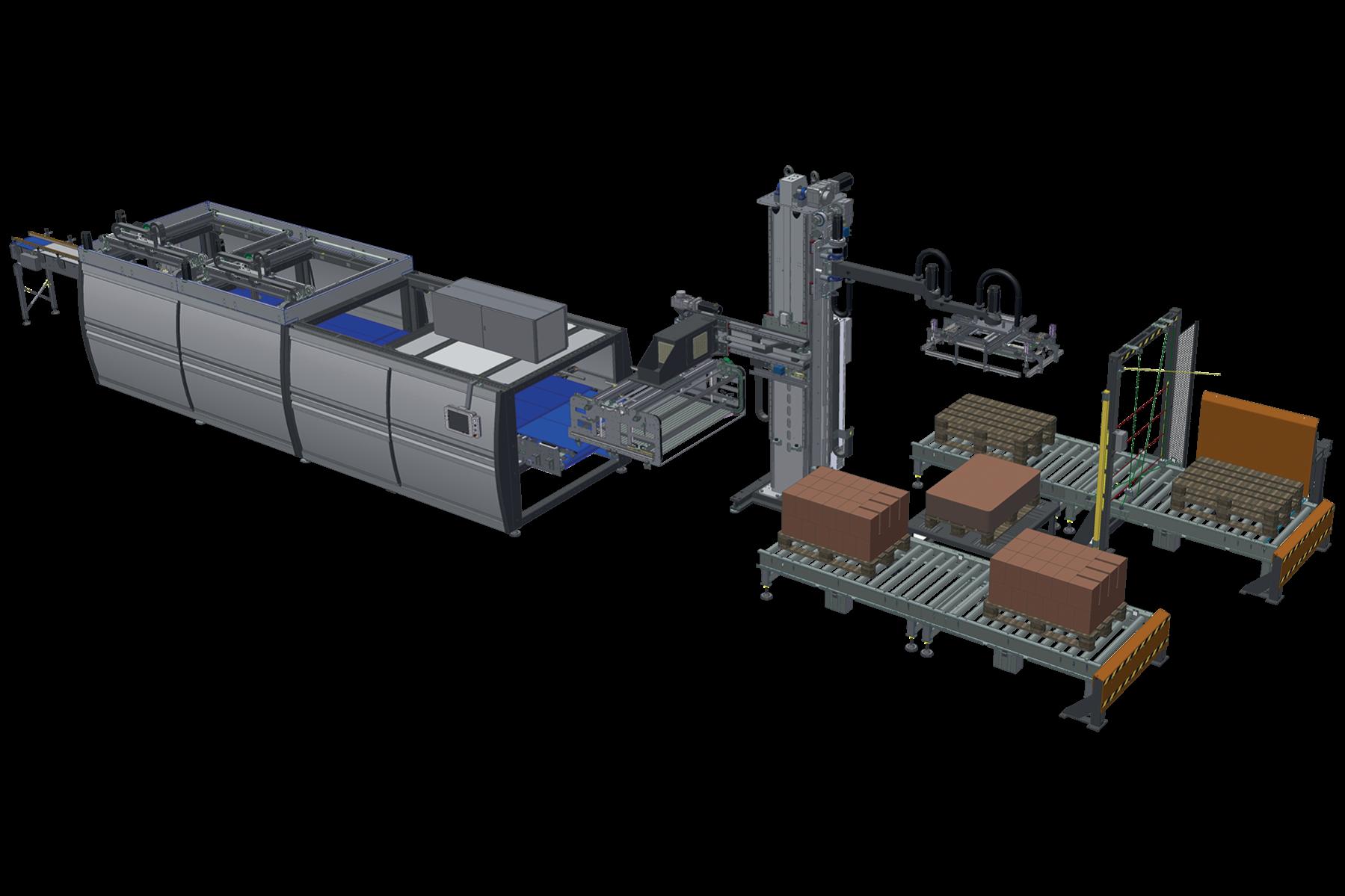 Automatic Palletization System (100PPM)