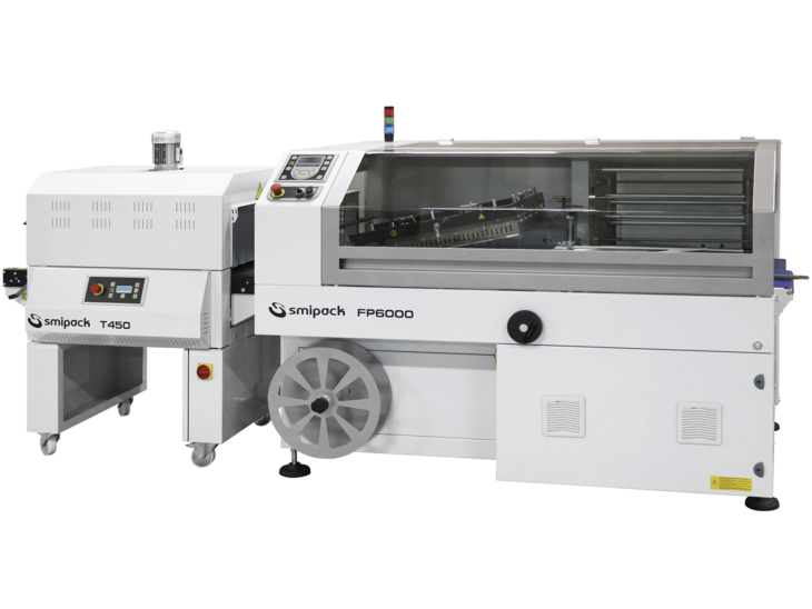 Automatic L Sealer with Shrink Tunnel full