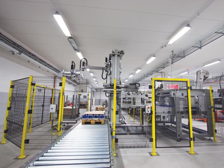 Automatic Palletization System (50PPM)