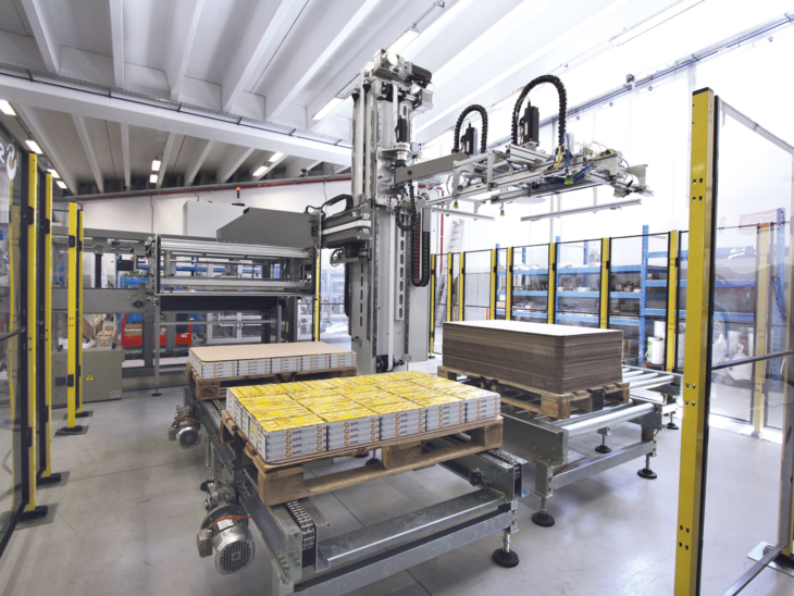 Automatic Palletization System (50PPM) full