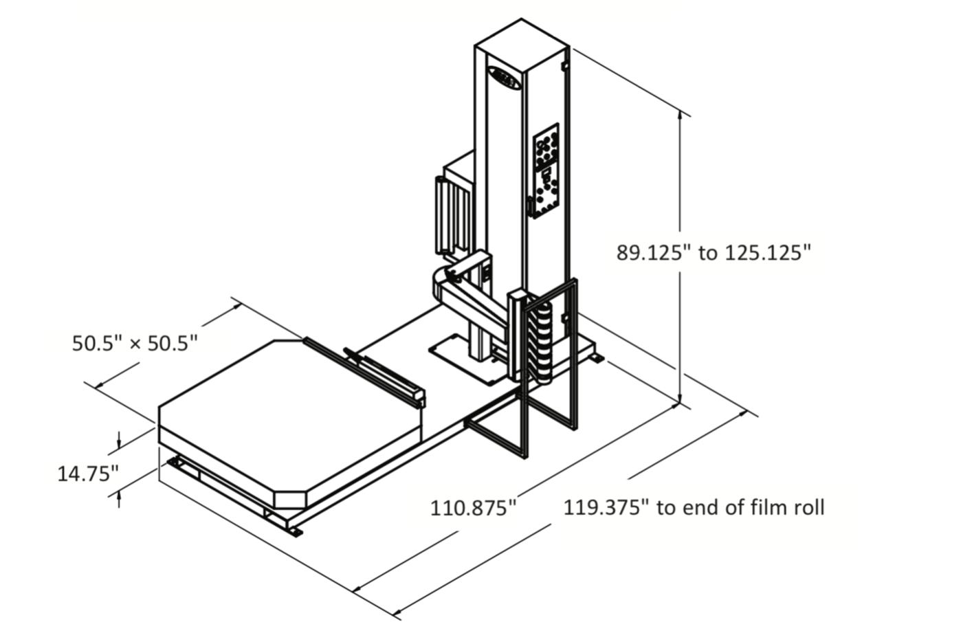Automatic Stretch Wrapper (High Profile)