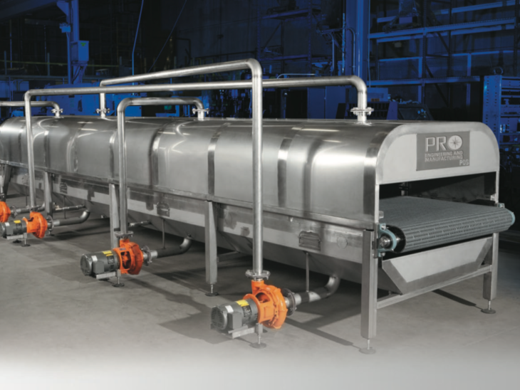 Compact Tunnel Pasteurizer