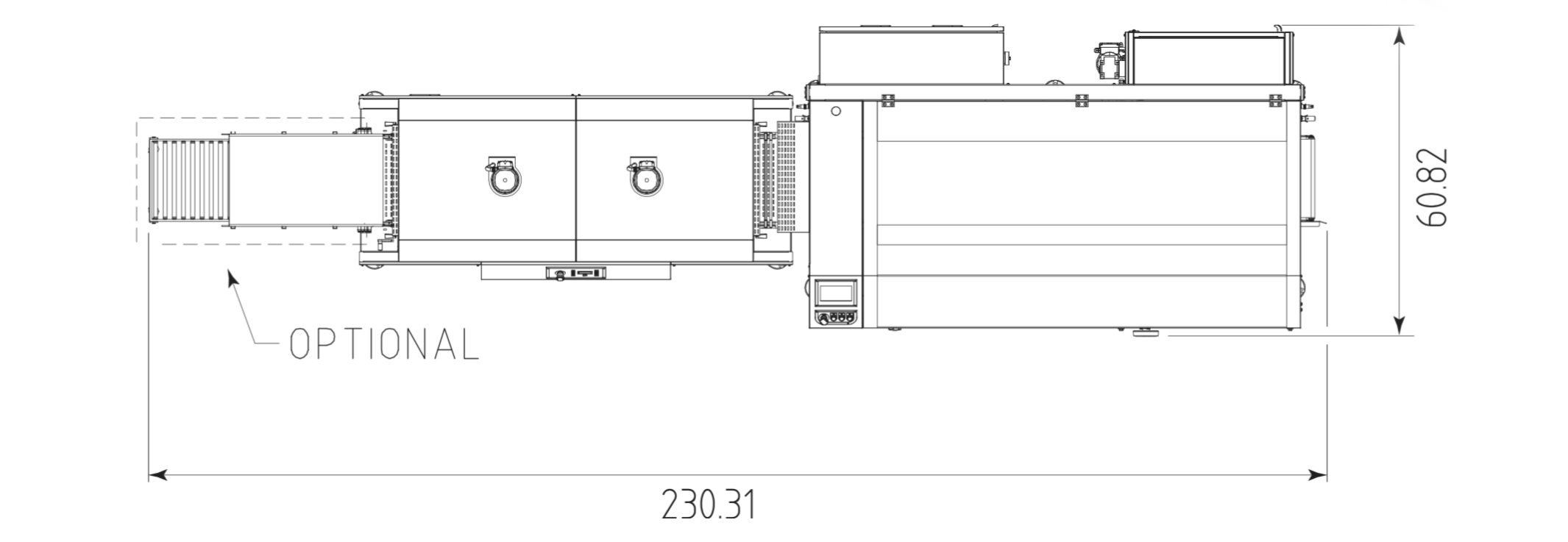 Continuous Automatic Packer Box Motion