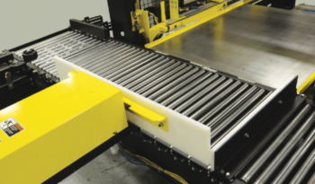 Low Level Semi Automatic Case Palletizer full
