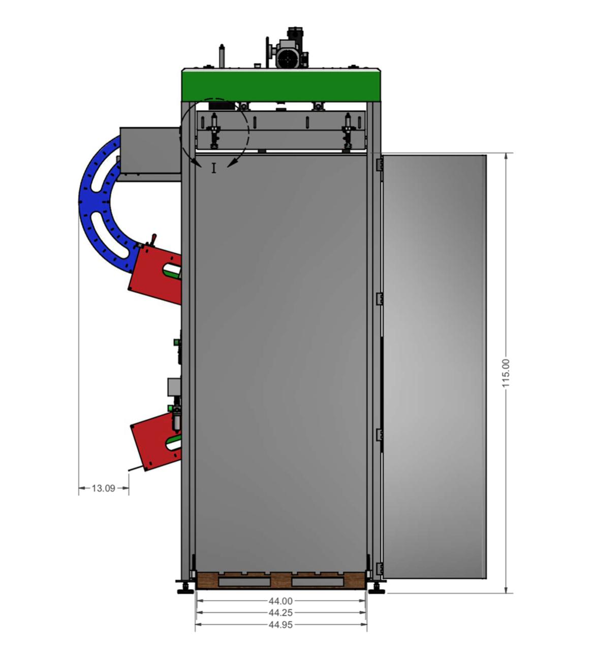 Micro Can Depalletizer Drawings