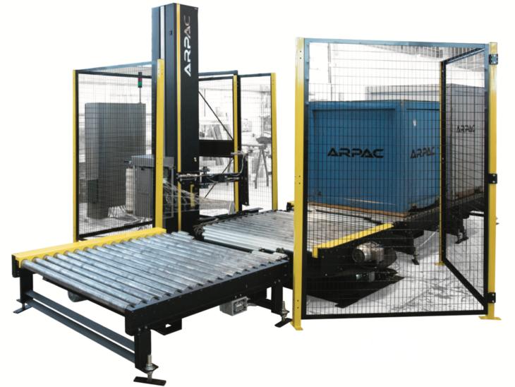 Automatic Platform Pallet Stretch Wrapper