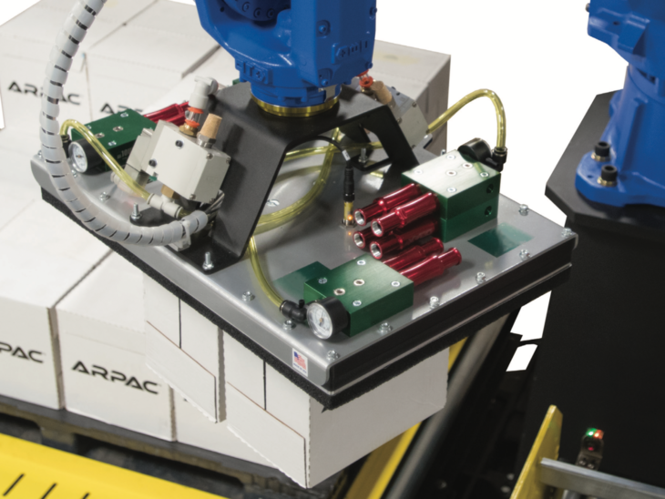 Robotic Palletizer with Stretch Wrapper full
