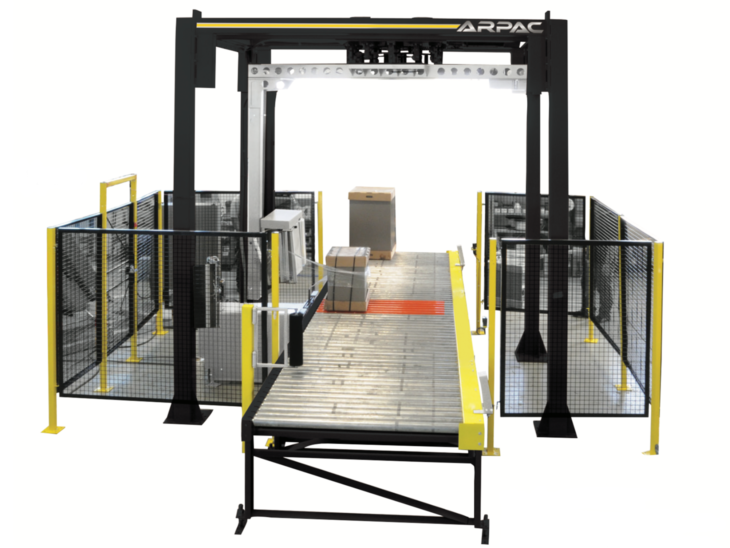 Automatic Rotary Tower Pallet Stretch Wrapper
