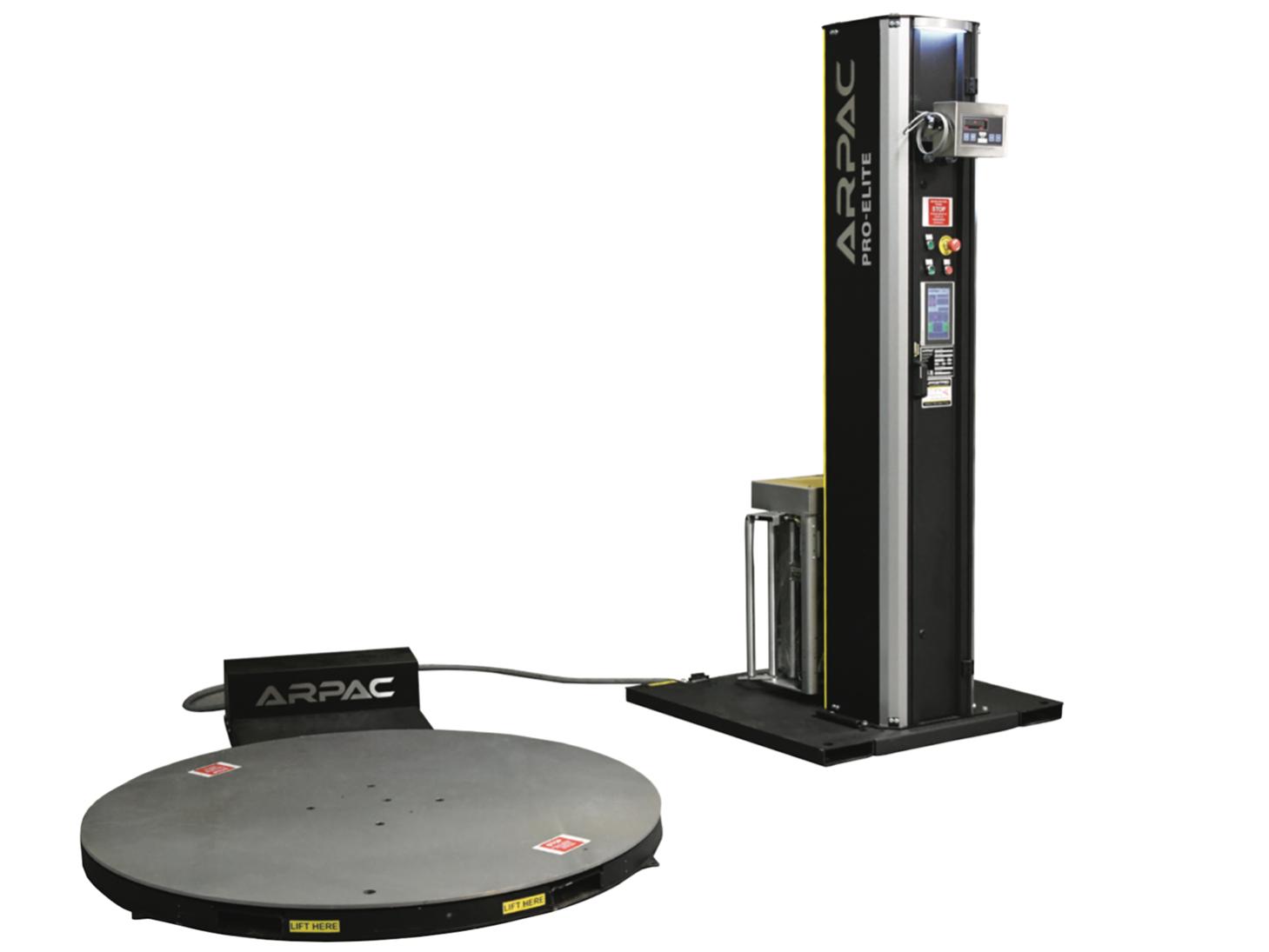 Semi Automatic Stretch Wrapper With Scale High Profile