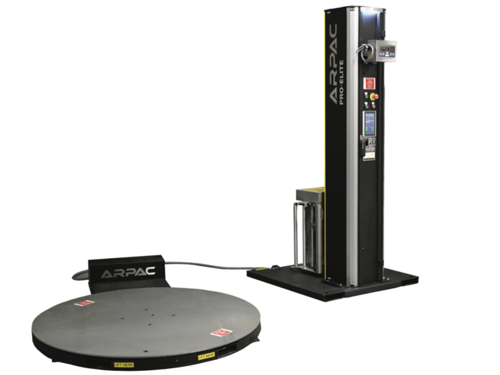 Semi-Automatic Stretch Wrapper with Scale (High Profile)