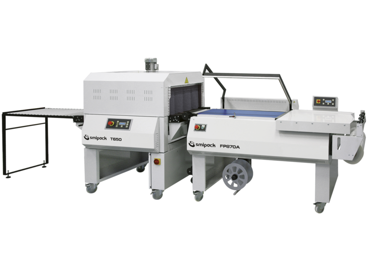 Semiautomatic L Sealer with Shrink Tunnel
