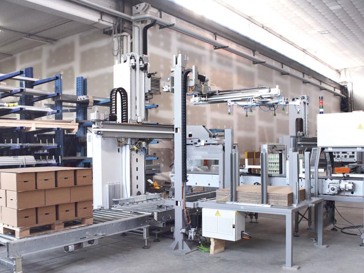 Single Column Palletization System