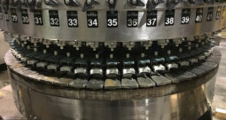 Used CROWN 60 Valve Bottle Filler with Alcoa 12 Head Capper