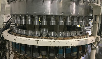 Used Crown 40 Valve Can Filler with Angelus 61h Seamer