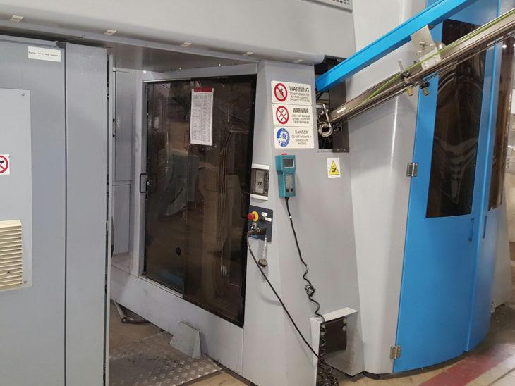 Used SIPA 16 Cavity PET Reheat Stretch Blow Molder full