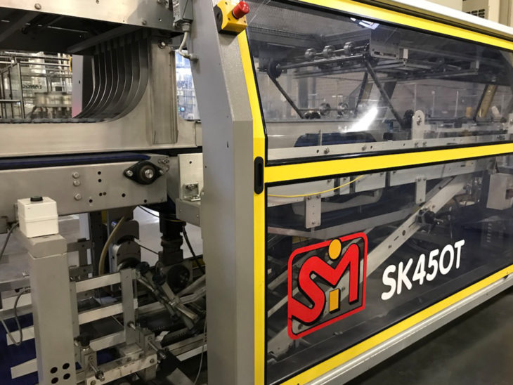 Used SMI Tray Former Packer Automatic Shrink Wrapper full