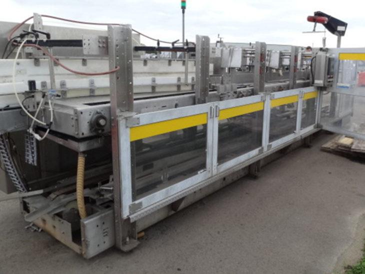 Used Hartness 2800 Servo Case Packer full