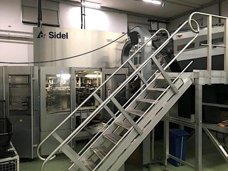 Used SIDEL 14 Cavity Reheat Stretch Blow Molder full