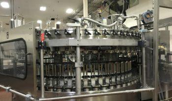 Used Complete 60 Valve Carbonated Bottling Line