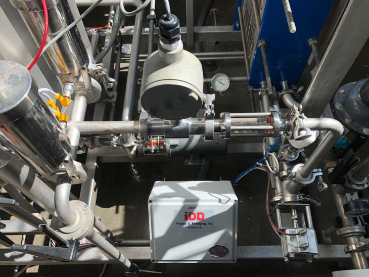 Used 30HL Flash Pasteurization System full