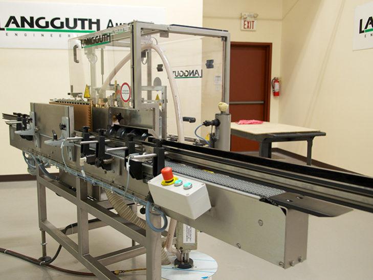 Rebuilt Langguth Inline Cold Glue Labeler