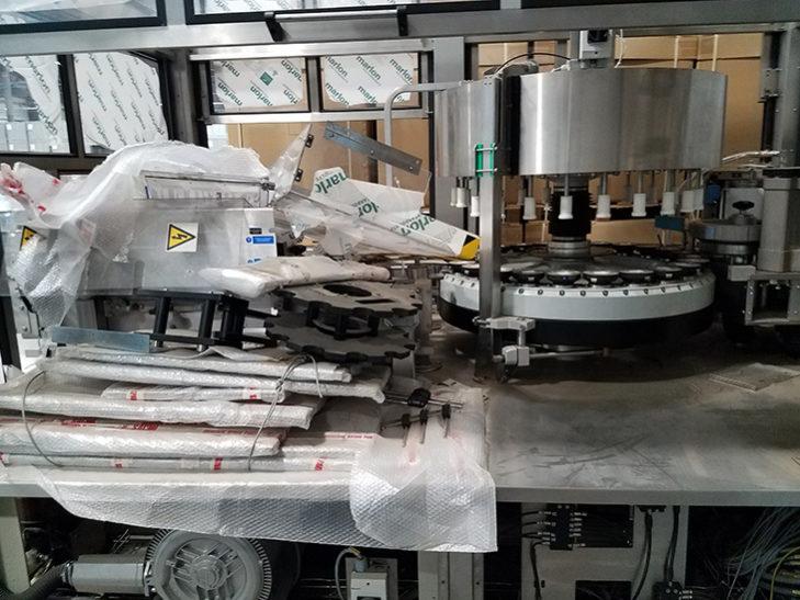 Never Used SACMI Opera 300 RF Roll Fed Hot Melt Labeler full