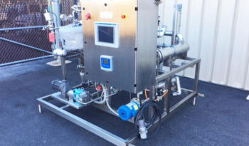 Used 15GPM Plug and Play Flash Pasteurizer full