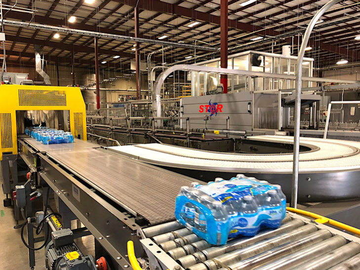 Used Complete 500BPM PET Water Bottling Line