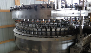 Used Crown 60 Valve Bottle Filler with 16 Head Capper full