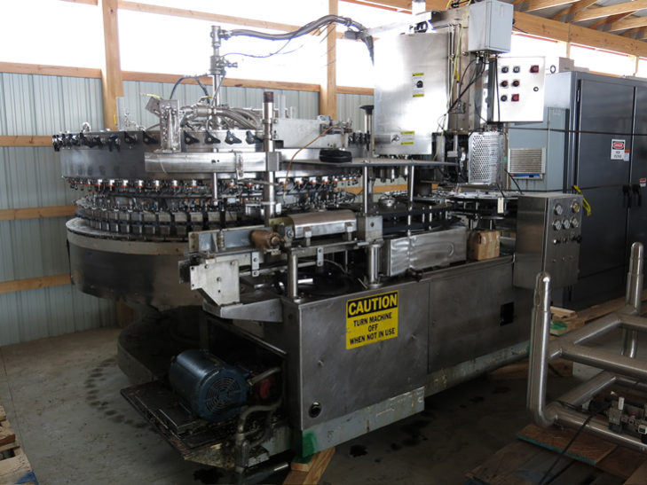 Used Crown 60 Valve Bottle Filler with 16 Head Capper