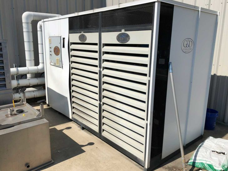 Used G&D 3 phase Two Stage Chiller