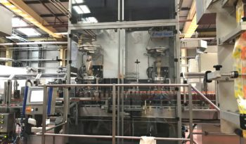 Used High Speed Dual Sleever with Steam Tunnel