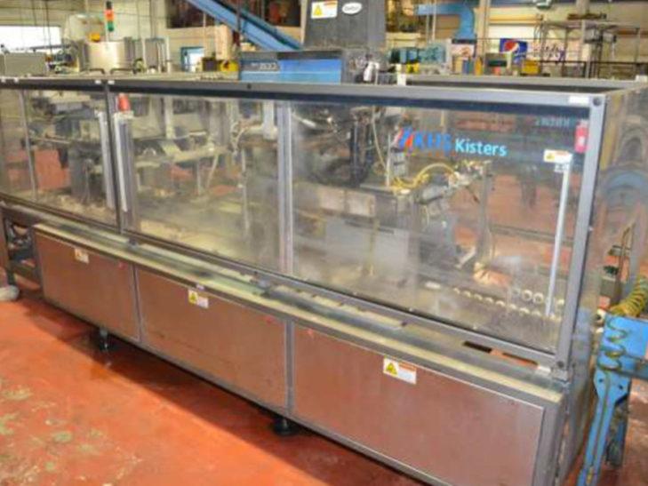 Used KHS Wraparound Tray Erector - Loader - Packer