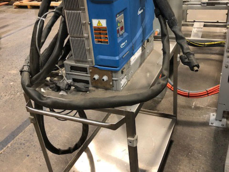 Used Krones Canmatic 24 Station Wrap Around Labeler full