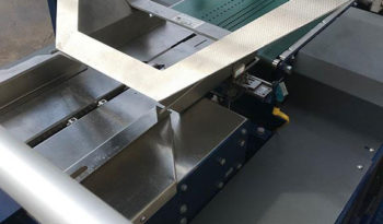 Used Lantech SW 5000 Continuous Motion Shrink Wrapper full