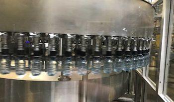 Used Linker 72 Valve Bottle Filler with 20 Head Capper full