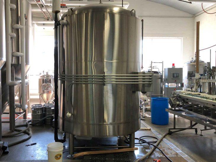 Used NSI 60HL Beer Brite Tank full