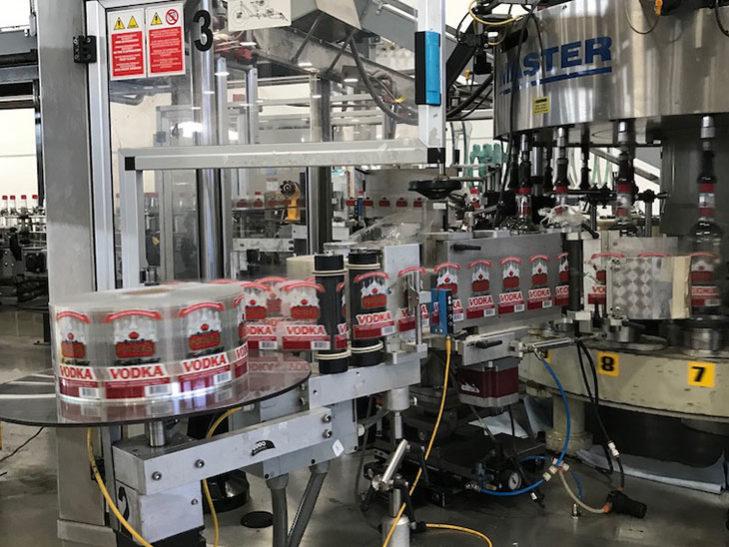 Used PE Labellers Rotary 20 Station Pressure Sensitive Labeler full