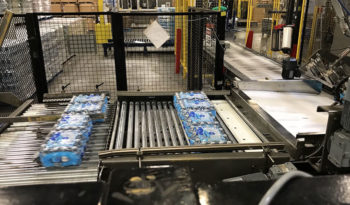 Used PRIORITY ONE Pro-Pal 3500 Low Level Case Palletizer