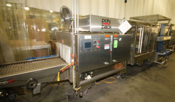 Used Polypack High Speed Continuous Motion Shrink Wrapper