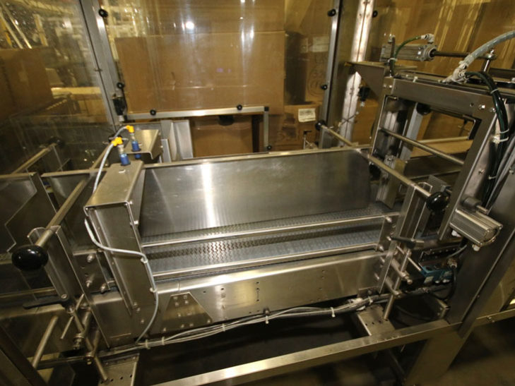 Used Polypack High Speed Continuous Motion Shrink Wrapper full