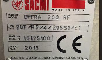 Used SACMI Opera 200 Roll Feed Rotary Labeler full