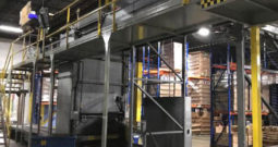 Used SECO Bulk Depalletizer with Sentry Pressureless Combiner